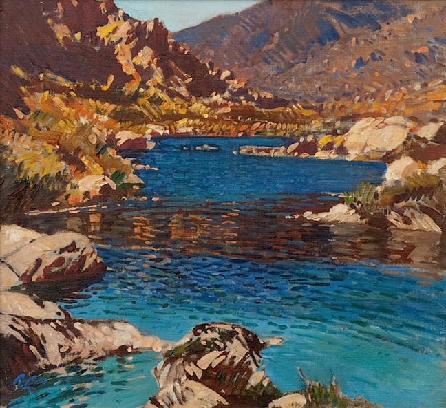 The White River in Bainskloof, by Gwelo Goodman (1871 - 1939)